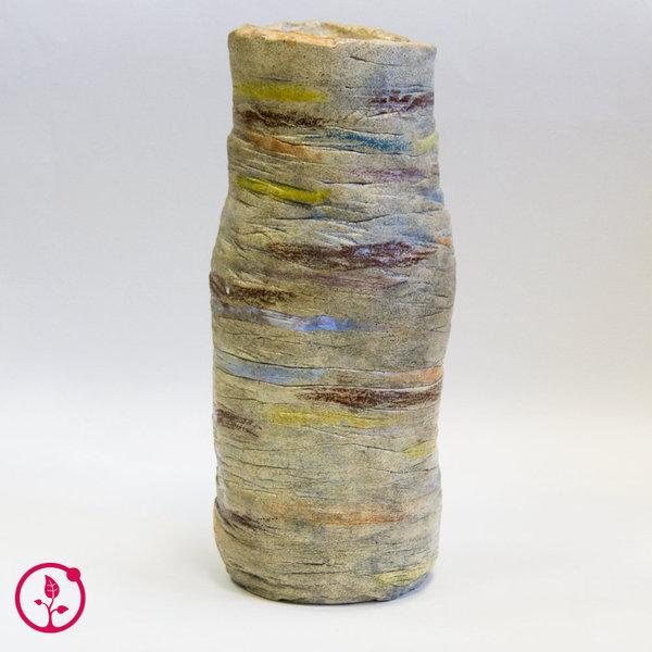 Особая керамика: напольная ваза из шамота