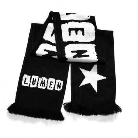 Lumen: шарф со звездой и логотипом группы