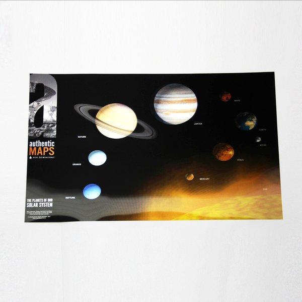 3D карта Солнечной системы